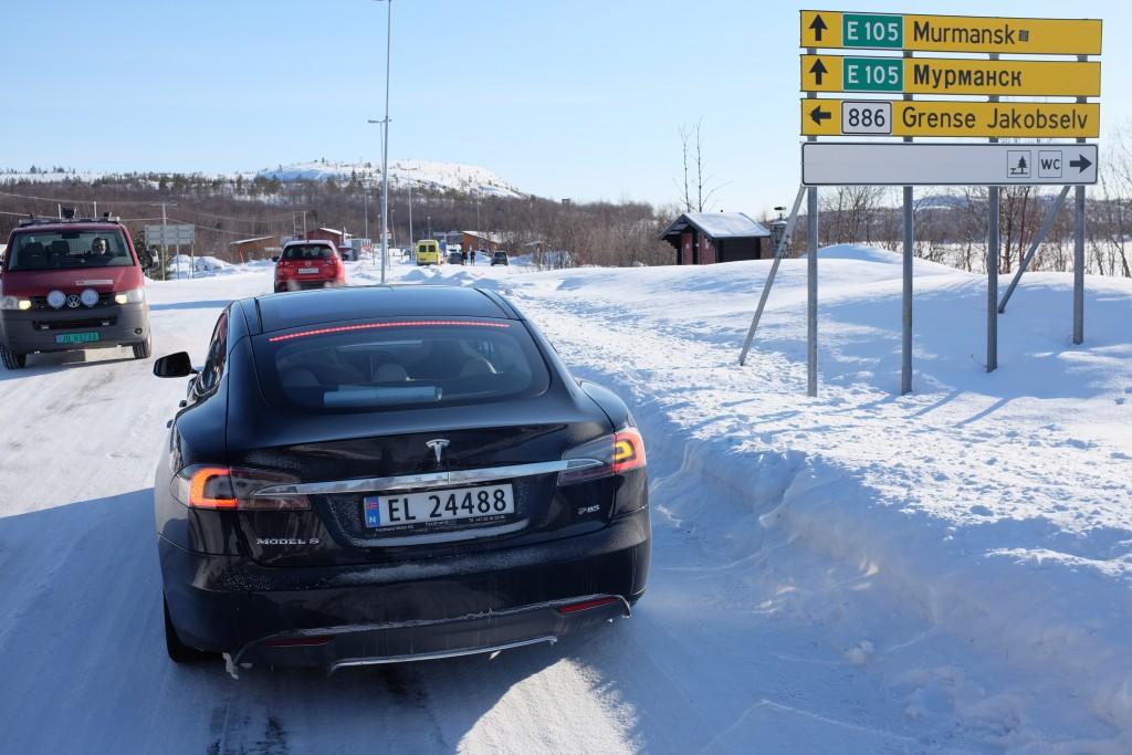 Murmansk med elbil
