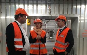 Bellona-leder Frederic Hauge, byråd for miljø- og samferdsel Guri Melby (V) og byrådsleder Stian Berger Røsland (H) håper at Klemetsrud-anlegget kan bli et unikt prosjekt for CO2-fangst. – Det vil i så fall bli verdens første karbonnegative anlegg, sier Frederic Hauge.