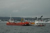 Nedpumpingsenhet to skip dypvannsdeponiet Malmoykalven (Frontpage ingress image)