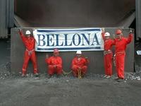 Tinfos fem aksjonister med Bellona banner