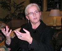 Helen Bjørnøy (Frontpage ingress image)