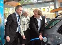 Frederic fyller biodrivstoff