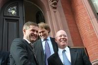 Solheim, Connaughton og Frederic  (Frontpage ingress image)