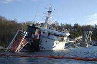 Synkende skip: Sjansene er store for at dette skipet ikke klarer å holde seg over overflaten... (Frontpage ingress image)