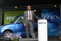 Chetan Kumaar Maini, viseformann i Reva (Frontpage ingress image)