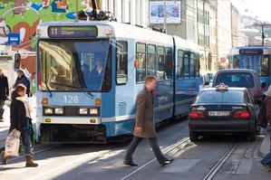Oslo, trikk, offentlig transport