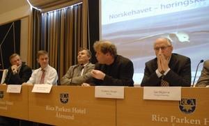 Frederic Hauge, leder i Bellona, i debatt om Norskehavet (Ingress image)