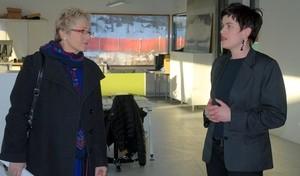 Navarsete møter Bellonas Gro Nereng (Ingress image)