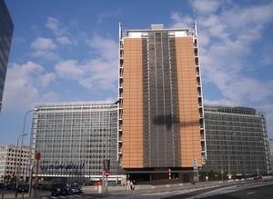 Bygningen som huser Europakommisjonen i Brussel (Ingress image)