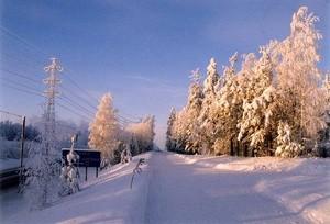Sno og vinter og kulde (Ingress image)