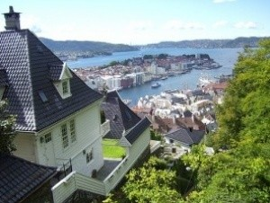 Bergen by (Ingress image)
