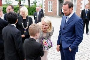 Kronprinsparet deltok på klimatoppmøtet CC9