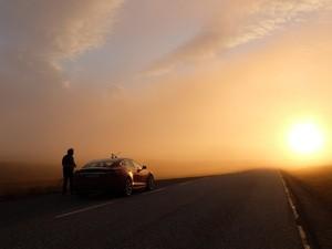 Tesla på Nordkapp (Ingress image)