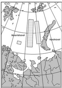 dumping av radiokativt avfall kart 1 (Ingress image)