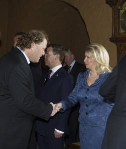 Hauge møter Medvedev (Ingress image)