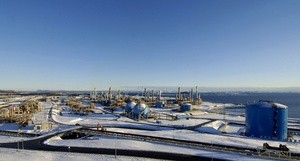 Gassterminalen på Kårstø