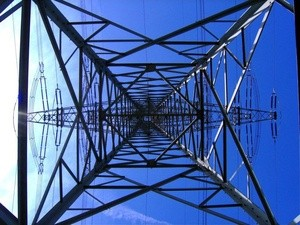 Kraftledning strøm power line