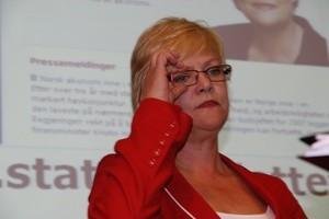 Finansminister Kristin Halvorsen