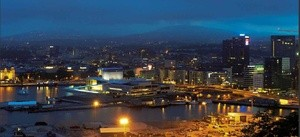 Oslo by night (Ingress image)