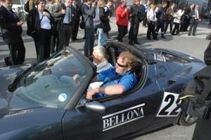 Frederic Hauge deltar i Viking Rally med Tesla (Ingress image)
