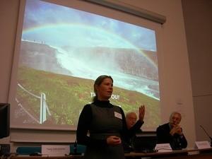 Tone Knudsen under seminaret i Orléans, Frankrike. (Ingress image)