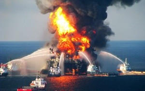 Deepwater Horizon April 2010