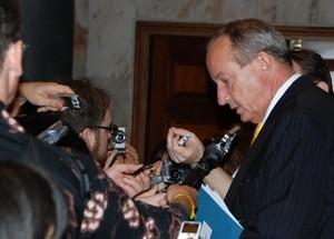 Lederen for FNs klimakonvensjon (UNFCCC), Yvo de Boer (Ingress image)