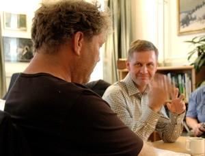 Frederig Hauge og Erik Solheim (Ingress image)