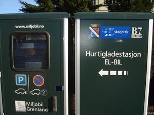 Hurtigladestasjon i Porsgrunn (Ingress image)