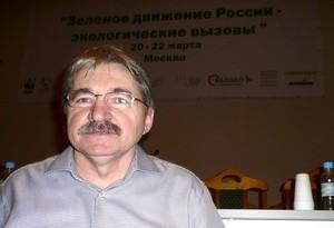 Bellonas Aleksandr Nikitin på helgens miljøkonferanse i Moskva. (Ingress image)