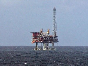 Oljerigg i Nordsjoen