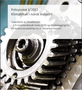 policynotat_klimatiltak forside