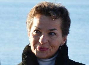 FNs klimasjef Christina Figueres var til stedet og roste det norske initiativet