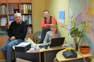 Andrey Zolotkov, Anna Kireeva og Olga Molokova sine siste dager på kontoret til Bellona Murmansk.