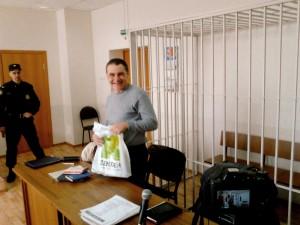 Yevgeny Vitishko på nok en høring hvor anken hans igjen blir avvist.