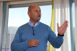 Arve Ulriksen, dirktør i Mo Industripark AS, har som mål å skape en grønn industripark i verdensklasse.