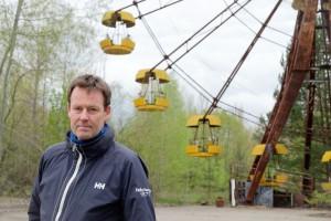 Bellonas atomfysiker Nils Bøhmer besøkte Tsjernobyl i forbindelse med 30-årsmarkeringen i april 2016.