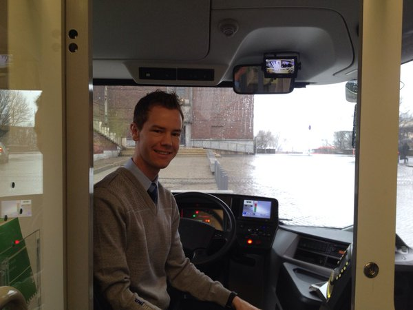 Bussjåfør Thorkil Agerup