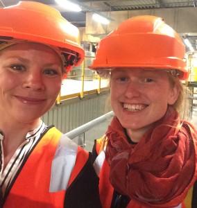Sirin Engen og Marika Andersen er to av Bellonas eksperter på CO2-fangst og -lagring. De er stolte over utviklingen på Klemetsrud.