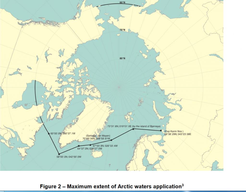 polarkoden IMO arktis