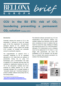 Rapport: EU hvitvasker CO2 - Bellona
