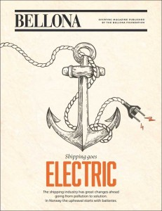 Skipsfarten blir elektrisk - Bellona shipping-magasin