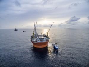 Goliat-plattformen i Barentshavet