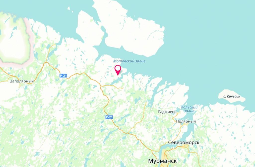 andrejevabukta - kart