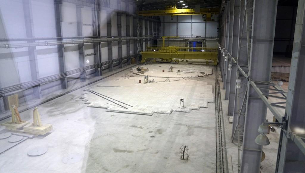 Andrejevabukta lagerhall atombrensel 2016