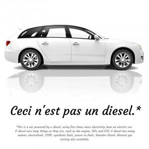 Ceci nest pas un diesel - dette er ikke en dieselbil - Bellona.no