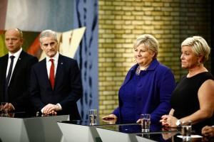 Stortingsvalget 2017: Erna Solberg vant over Jonas Gahr Støre