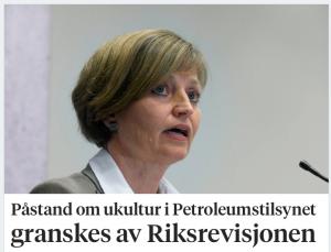 Riksrevisjonen gransker Petroleumstilsynet