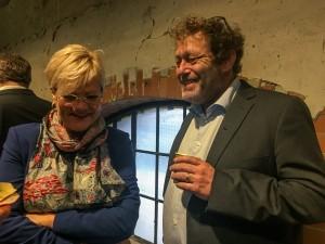 Kristin Halvorsen og Frederic Hauge klima-kickoff