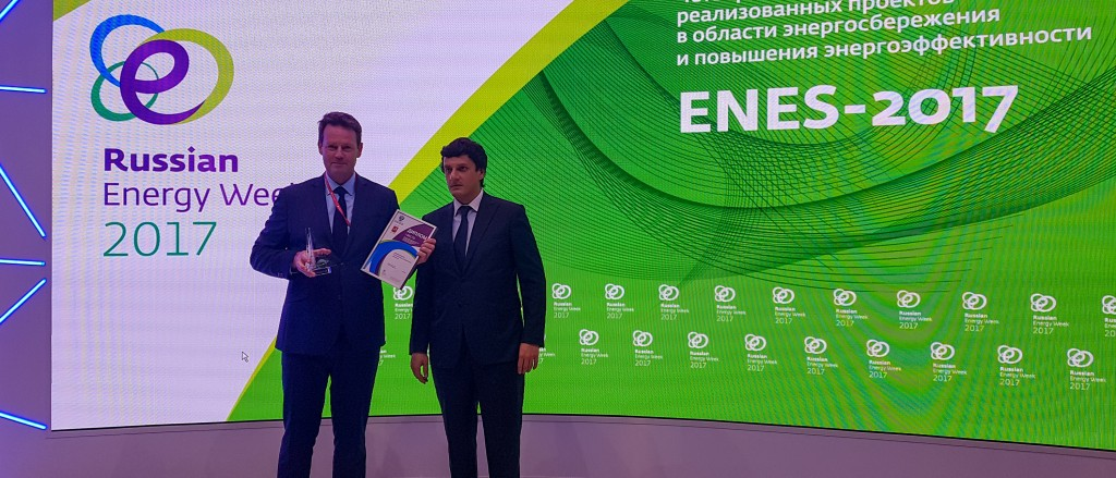 pris for elbil-ladestasjon i Murmansk overrakt i Moskva